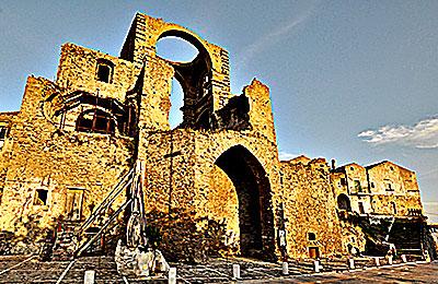 chiesa diruta grottole matera